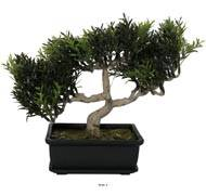 Bonsai artificiel Arbre a The H 23 cm 98 feuilles