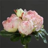 Votre Bouquet De Fleurs Artificielles Rose Hortensias Pivoine