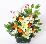 plantes fleuries artificielles les arbustes fleuris. Black Bedroom Furniture Sets. Home Design Ideas