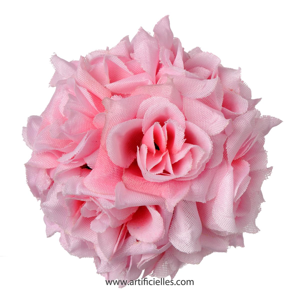 tetes de rose artificielle x 24 d 5 cm pour boule de rose du site. Black Bedroom Furniture Sets. Home Design Ideas