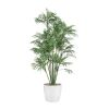 Palmier Areca artificiel H 90 cm en pot ceramique
