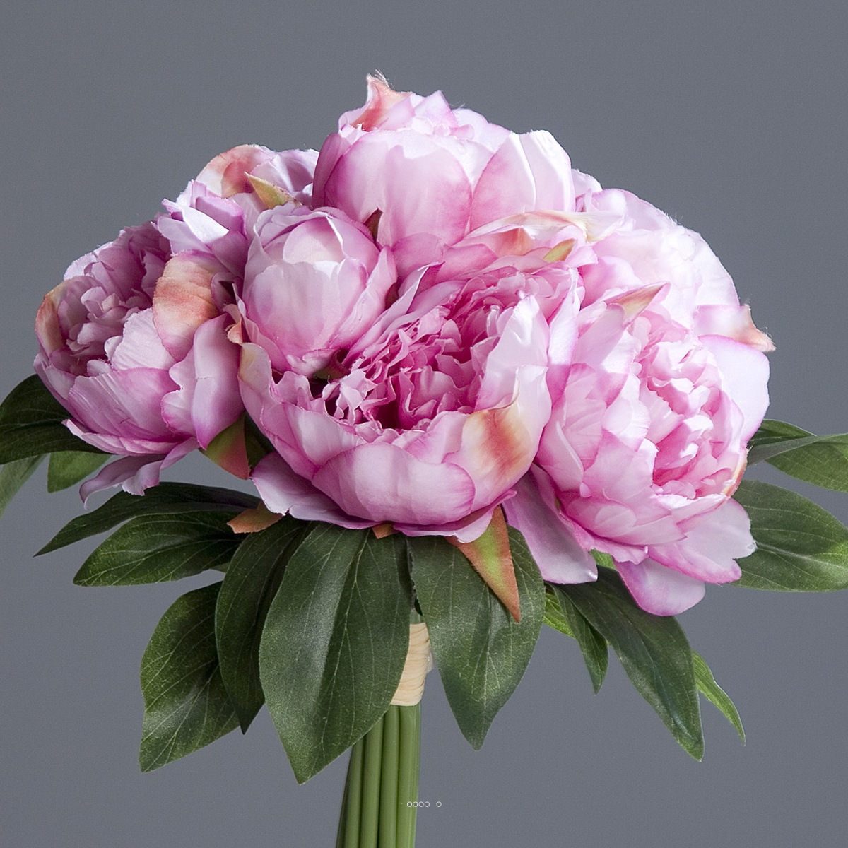 Bouquet de pivoines artificielles for Fleure artificiel