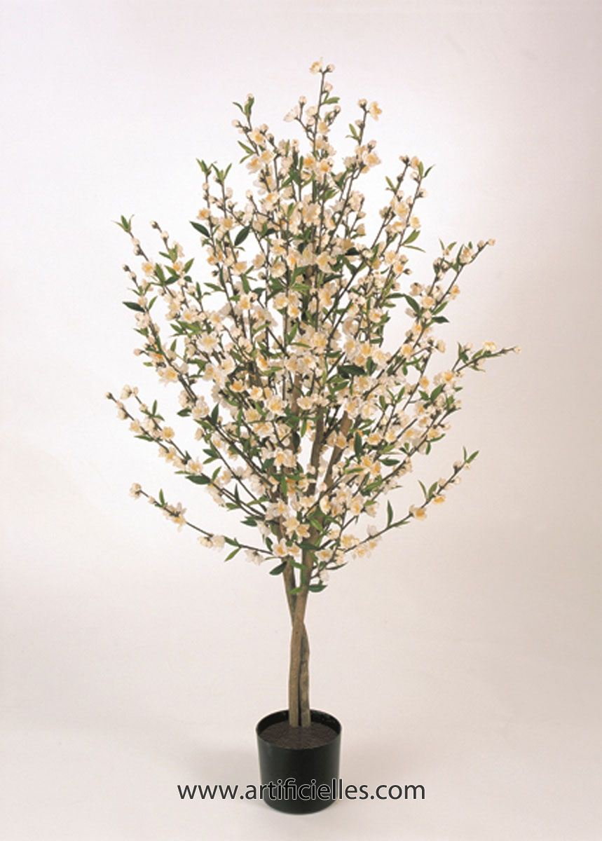 cerisier prunus du japon artificiel en pot tronc naturel du site. Black Bedroom Furniture Sets. Home Design Ideas