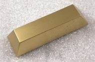 Lingot en Or artificiel en Plastique soufflé L 245x75 mm