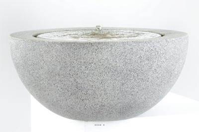 bac fibre de verre water a exterieur fontaine d 57 xh 30cm gris ciment du site. Black Bedroom Furniture Sets. Home Design Ideas