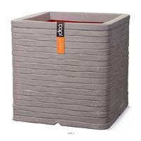 Bac Row Top Qualité Int/Ext cube 40x40x40 cm gris