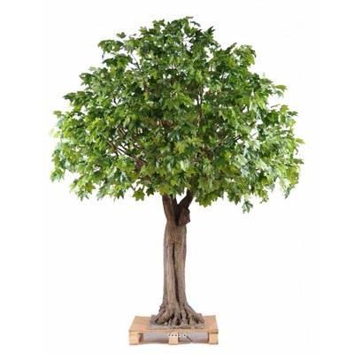 Platane arbre artificiel tronc fibre de verre et bois for Arbres artificiels haut de gamme