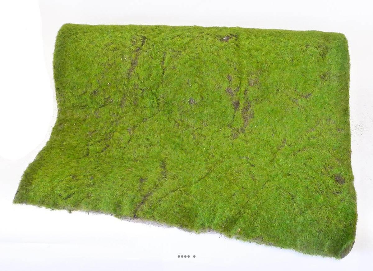 mousse artificielle en rouleau 50 x 205 cm superbe effet du site. Black Bedroom Furniture Sets. Home Design Ideas