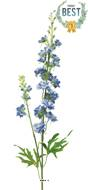 Delphinium artificiel, 2 ramures, H 85 cm Bleu royal