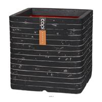 Bac Row Top Qualité Int/Ext cube 30x30x30 cm anthracite