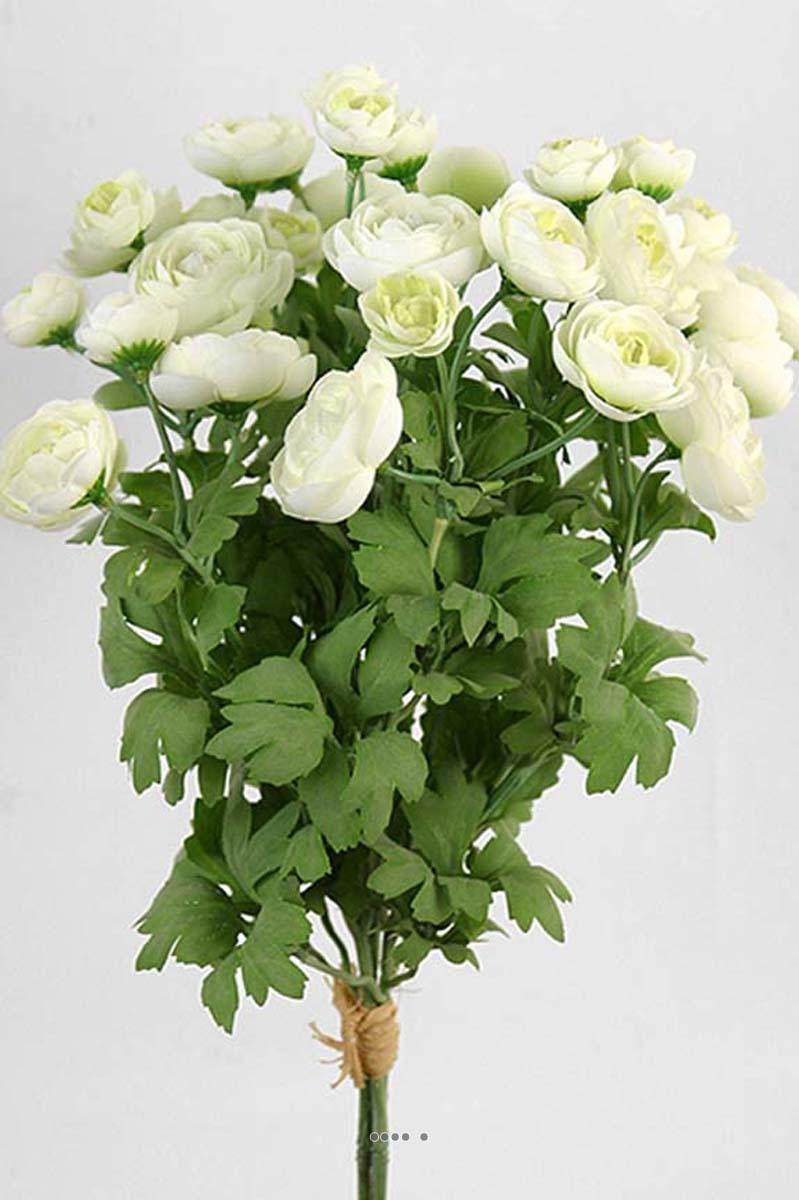 Bouquet de fleurs artificielles renoncule h 44 cm tr s dense d 20 cm du site - Bouquet fleurs artificielles ...