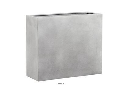 Bac fibre de verre farn exterieur claustra l 65 x 25 xh - Claustra verre exterieur ...