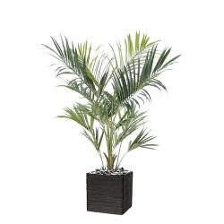 Palmier Kentia Artificiel Royal H 180 cm D 90 cm 14 palmes en pot