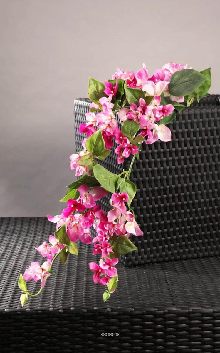 bougainvillier fleur artificielle h 115 cm superbe de realisme rose