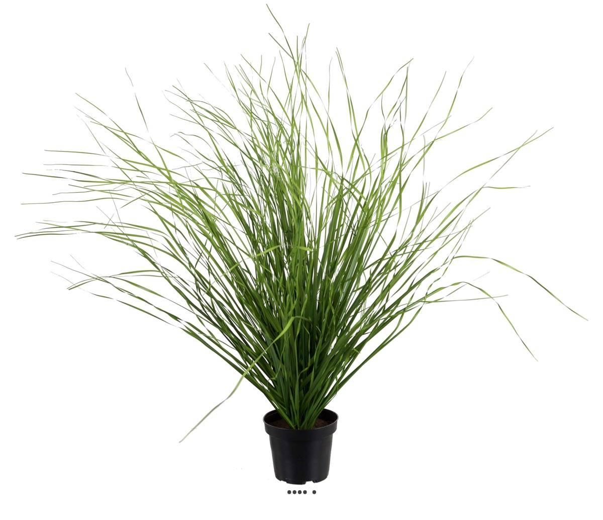 Herbe Artificielle En Pot-65 cm