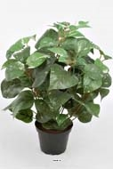 Philodendron artificiel en pot H 35 cm tres dense