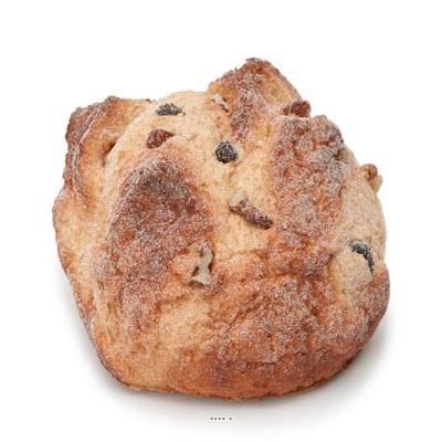Boule de pain aux noix et raisins artificiel d13 cm for Arbre factice