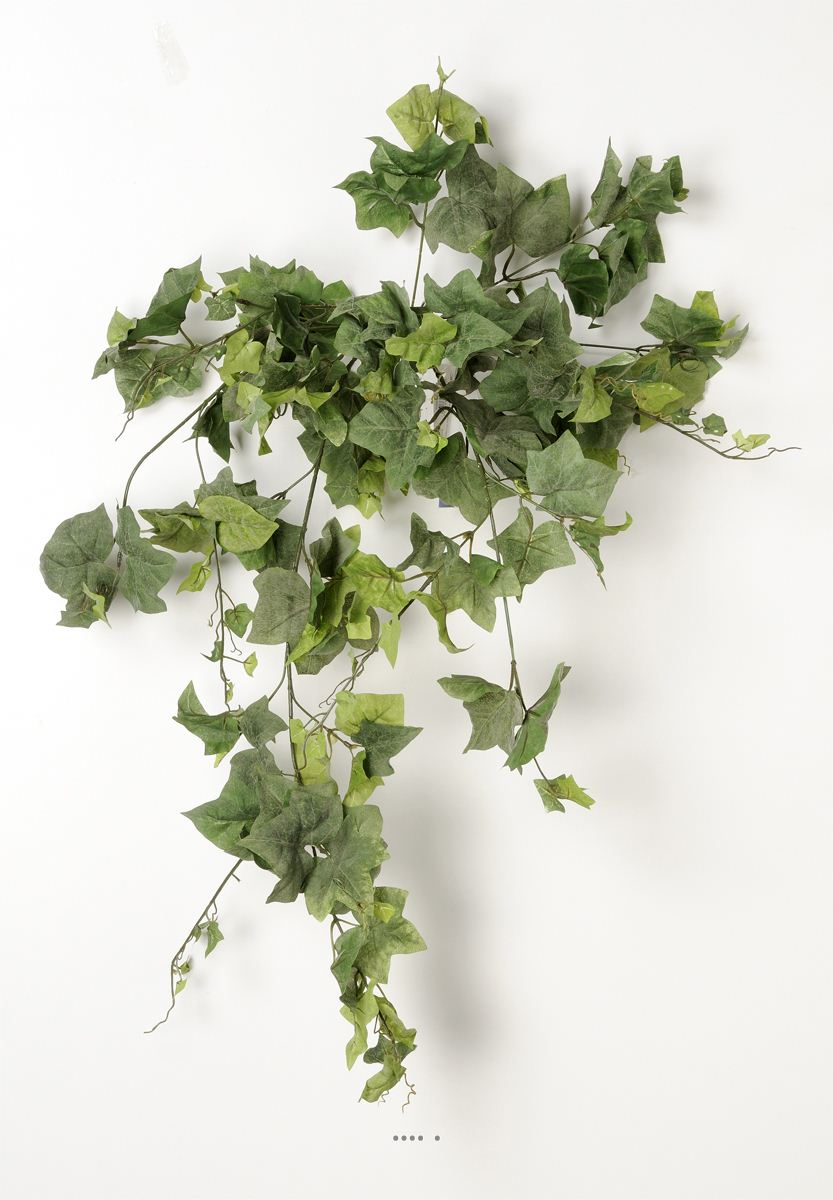 Lierre artificiel chute h 90 cm 155 feuilles vert du site for Lierre artificiel en pot