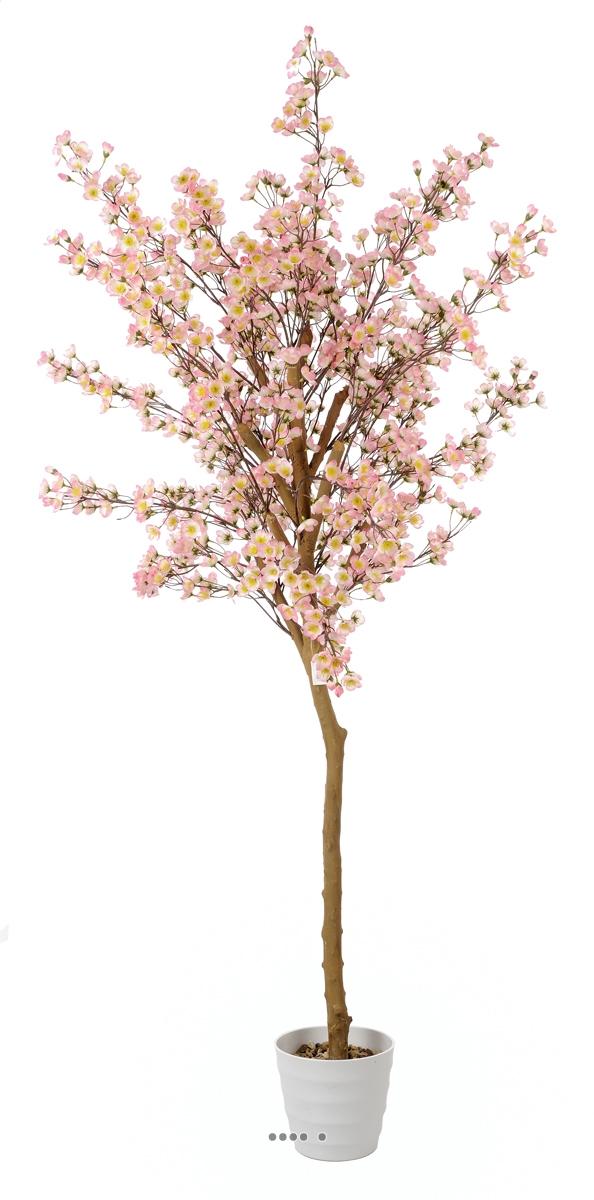 Cerisier prunus du japon artificiel h 180 cm superbe for Arbre factice