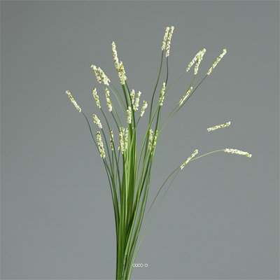 Isolepsis artificiel Herbe a ours H 70 cm Creme