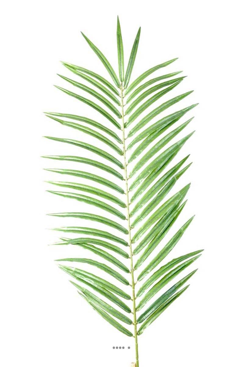 Feuille de palmier phoenix artificielle en tissu h 60 cm - Feuille de palmier artificielle ...