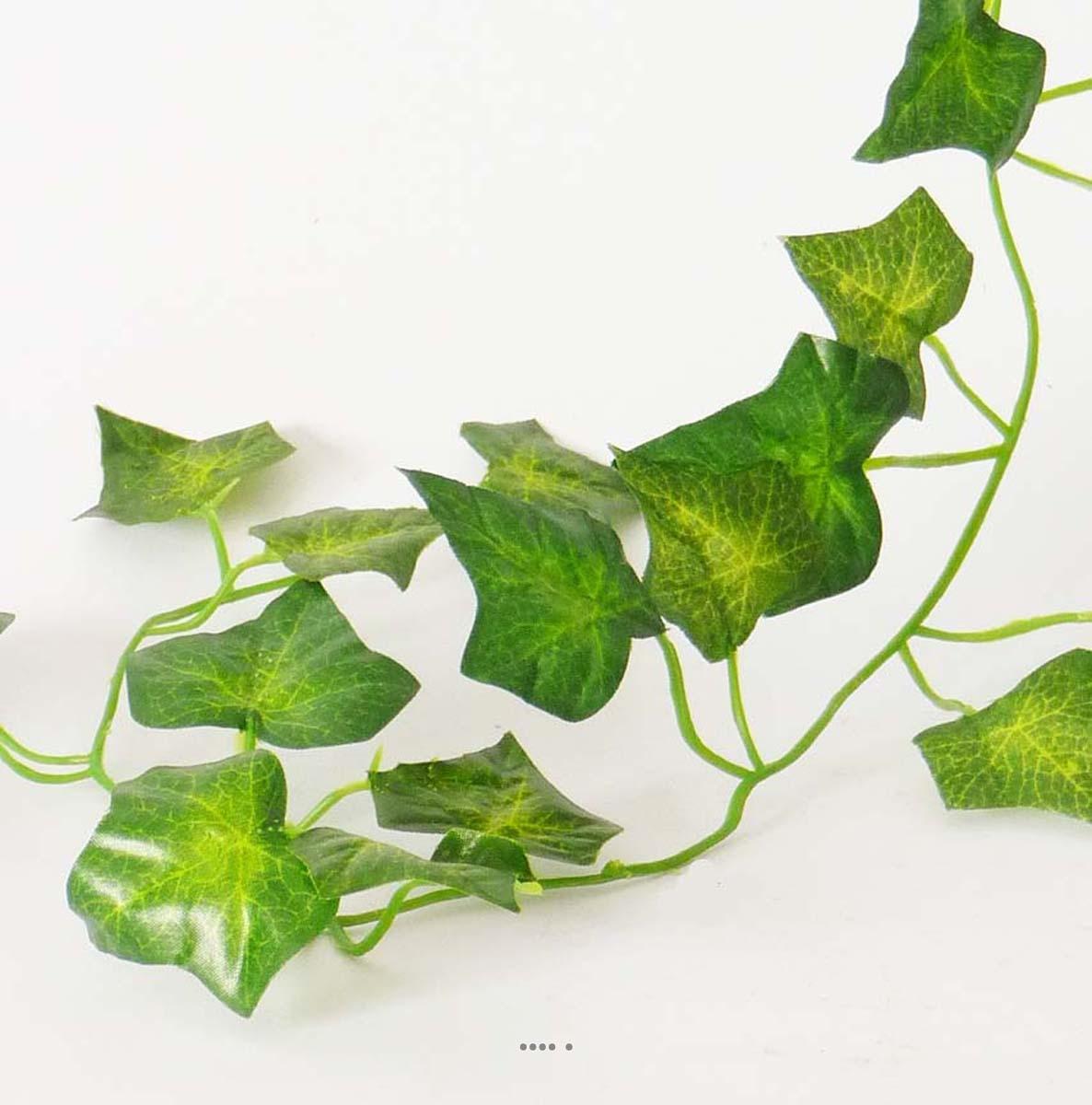 Guirlande de lierre artificiel 205 cm 81 feuilles non for Lierre artificiel exterieur