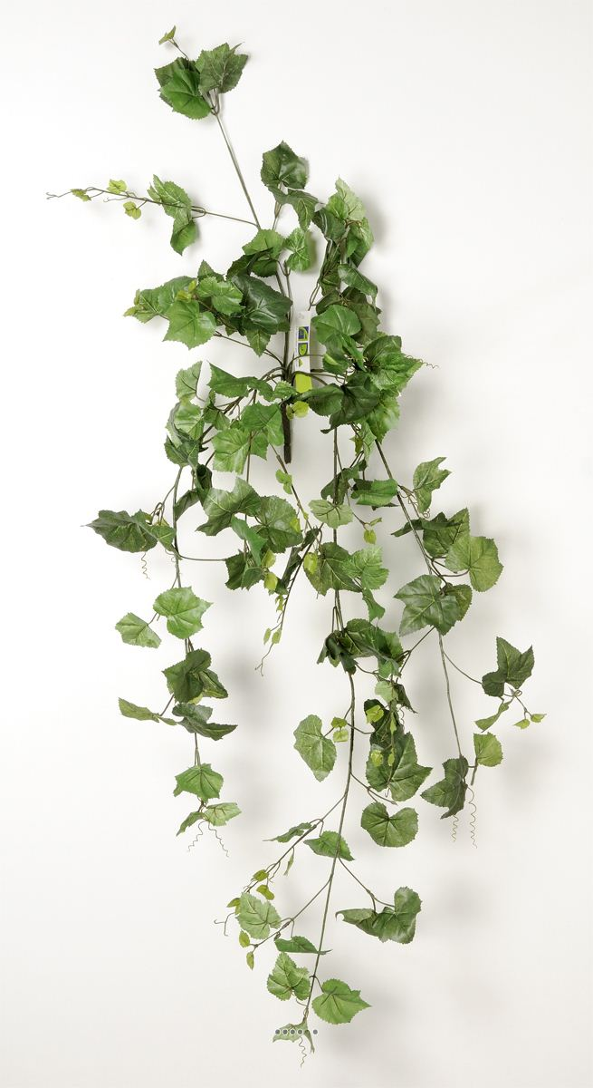 Lierre artificiel en piquet 120 cm 194 grandes feuilles for Lierre artificiel en pot