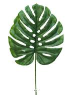 Feuille de Monstera artificielle, H 46 cm, D 26 cm - BEST