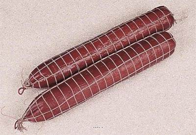Saucisson Fume artificiel en lot de 2 en Plastique soufflé L 450x65 mm