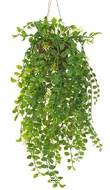 Pilea artificielle en pot L 50 cm tres originale en suspension