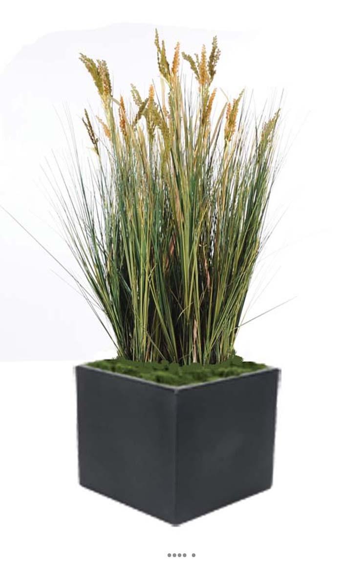 isolepsis artificiel gramin e papyrus scirpes h 125 cm en pot du site. Black Bedroom Furniture Sets. Home Design Ideas