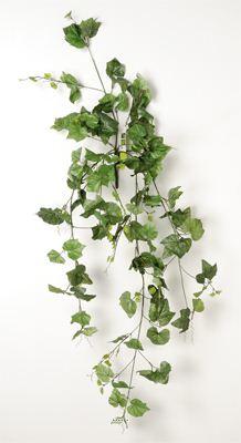Lierre artificiel en piquet 120 cm 194 grandes feuilles for Lierre artificiel